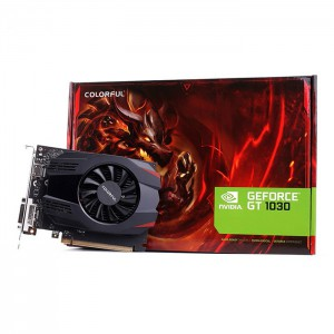 VGA Colorful GT 1030 2G D5 Single Fan (GT1030-2G V3-V)