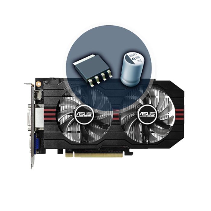 VGA Asus GTX 750Ti 2GB Box Renew (2 Fan)