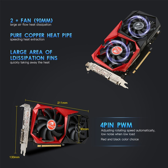 VGA Colorful GTX 1050 NB 3G GDDR5